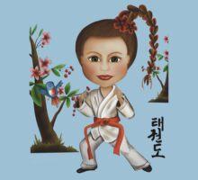 Taekwondo Girl by Kristy Spring-Brown
