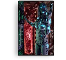 Cyberpunk Painting 068 Canvas Print