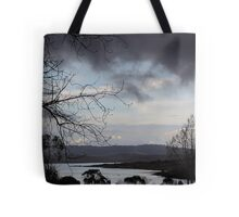 Stormy Blue Tote Bag