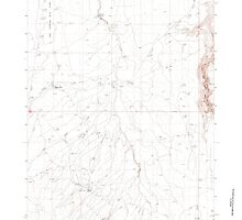 USGS Topo Map Oregon Rawhide Springs 281234 1982 24000 by wetdryvac