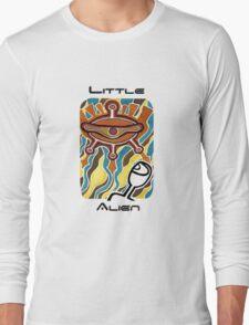 Little alien's spaceship Long Sleeve T-Shirt