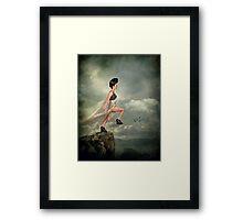 Leap of Faith. Framed Print