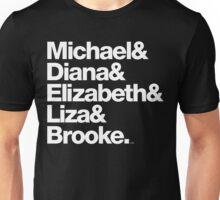 Michael Jackson & Diana Ross & Liz Taylor Unisex T-Shirt
