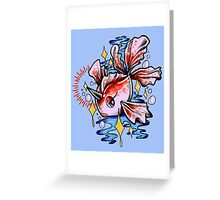 Goldeen Greeting Card