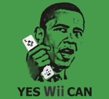 Yes Wii Can - Barack Obama T-Shirt by Brother Adam