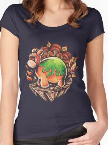 Numel Women's Fitted Scoop T-Shirt