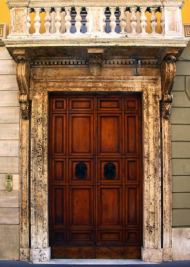 Roman doors by collpics
