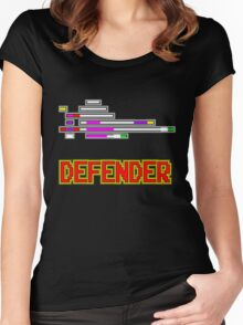 You are the DEFENDER! Women's Fitted Scoop T-Shirt