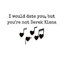 Derek Klena Photographic Print