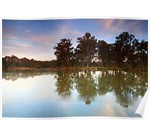 Horseshoe Lagoon Sunset Poster