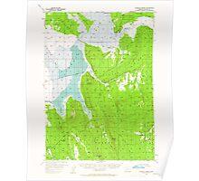 USGS Topo Map Oregon Klamath Marsh 282631 1957 62500 Poster