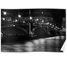 Lambeth Bridge at Night Poster