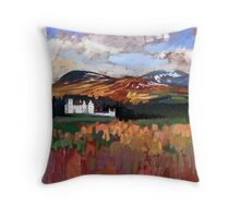 Blair Castle Throw Pillow