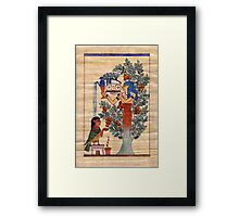 Lady of the Sycamore Framed Print
