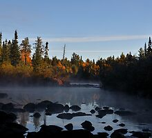 EARLY MORNING ON THE TEMPERANCE RIVER by pshootermike