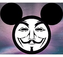 Vendetta Mickey  Photographic Print