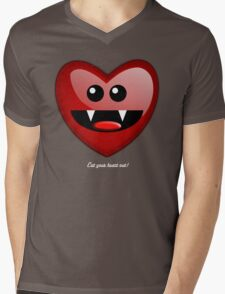 EAT YOUR HEART OUT Mens V-Neck T-Shirt