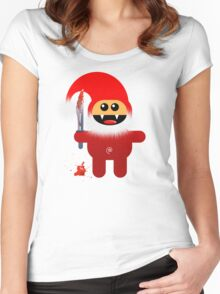 SAVAGE SANTA Women's Fitted Scoop T-Shirt