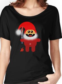 SAVAGE SANTA Women's Relaxed Fit T-Shirt