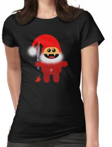 SAVAGE SANTA Womens Fitted T-Shirt