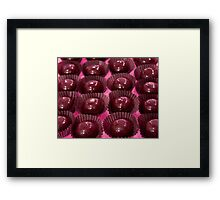 Topped with Pink Framed Print