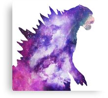 Space Godzilla  Canvas Print