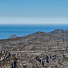 Cape Point from Tablemountain by Gideon van Zyl