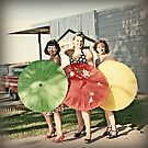 Pinup Girls by jujubean
