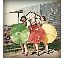 Pinup Girls Photographic Print