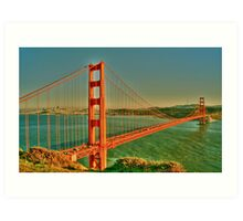The Golden Gate Bridge  Art Print