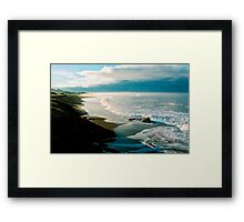 Moonstone Beach, Cambria Framed Print