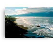 Moonstone Beach, Cambria Canvas Print