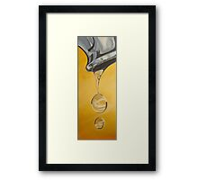 You big drip! Framed Print