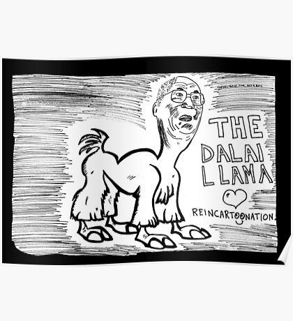 The Dalai Llama Poster