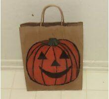 Jack-o'-lantern Halloween Photographic Print