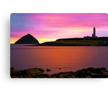 Clyde Morning Canvas Print