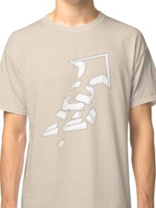 Split Arrows Pointing Up- Classic T-Shirt