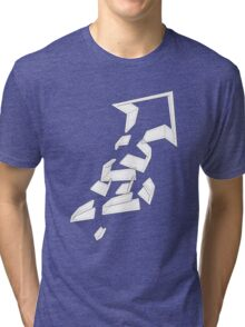 Split Arrows Pointing Up- Tri-blend T-Shirt