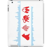 Chicago Flag with Skyline and Teams iPad Case/Skin