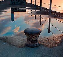 Reflection Lighthouse by BradKphoto