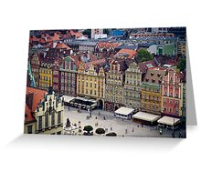 Wroclaw Greeting Card