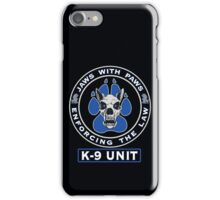 Jaws With Paws Enforcing The Law iPhone Case/Skin