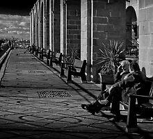 Ancora Innamorati (Valletta Malta) by Edwin  Catania