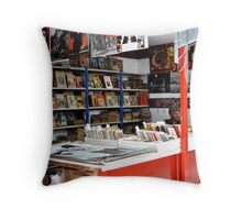 Book Shop Throw Pillow