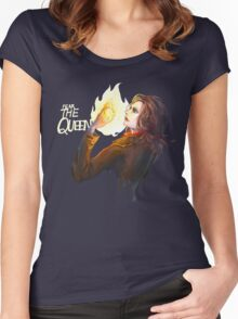 Regina Mills (Once Upon a Time) Women's Fitted Scoop T-Shirt