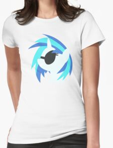 Vinyl Scratch sillhouette 2  (No boarder) T-Shirt