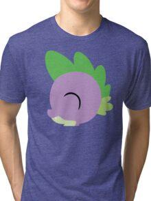 Spike silhouette (No boarder) Tri-blend T-Shirt
