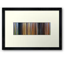 Moviebarcode: Spirit: Stallion of the Cimarron (2002) Framed Print