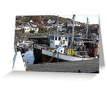 """Fishing Boat - Ski, Norway"" Greeting Card"