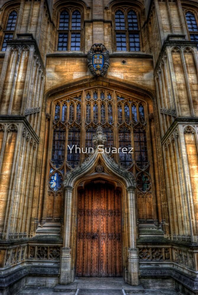 Bodleian Library Door by Yhun Suarez